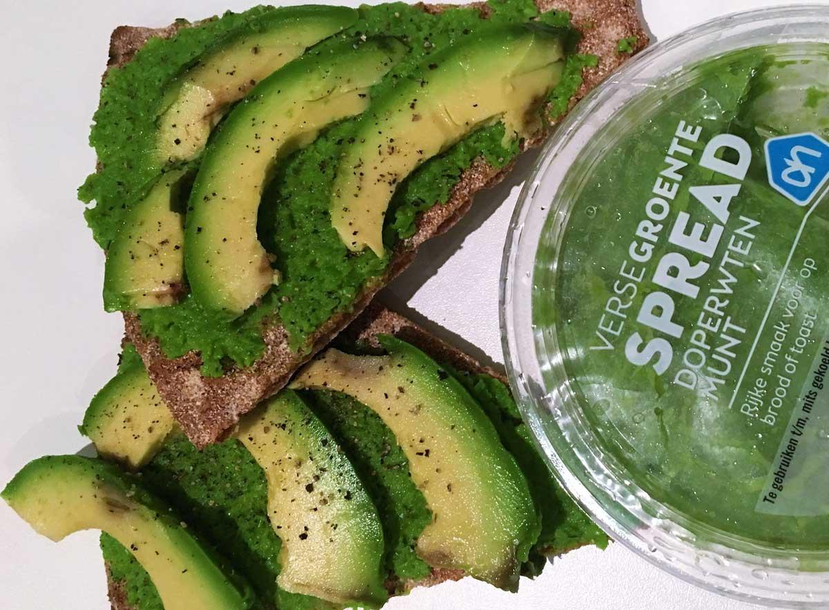 gezonde groenten spread
