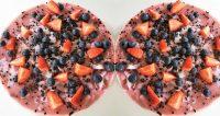 gezonde kwarktaart zonder suiker Roos