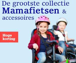 Fietsenwinkel mamafiets banner