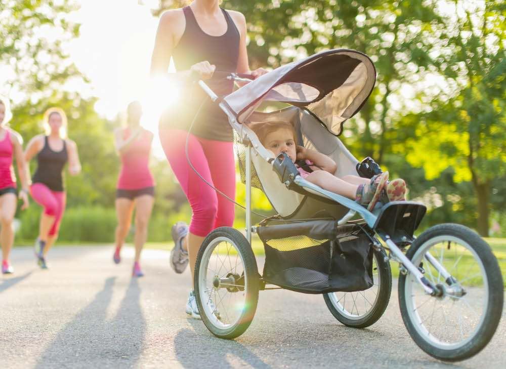 hardlopen met baby tips