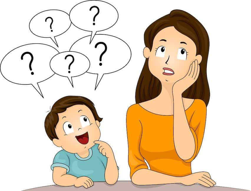 hoe ga je om met vragen stellende peuter