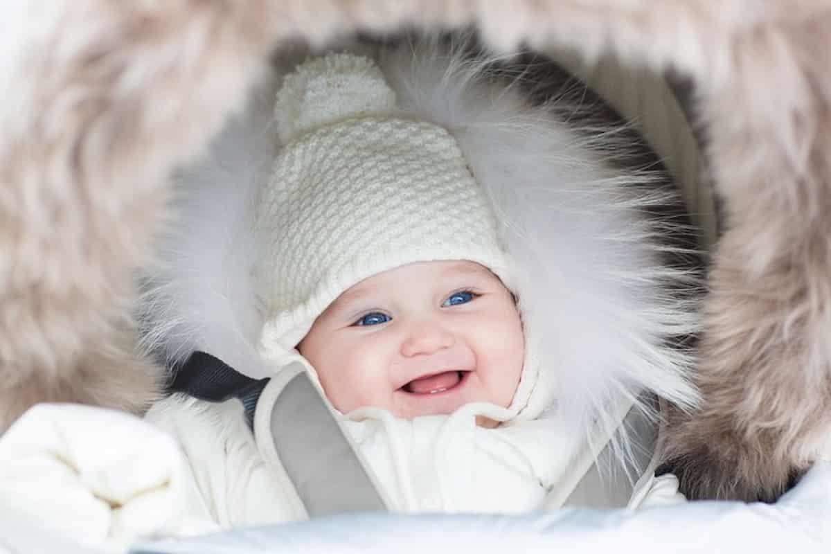 baby aankleden bij koud weer