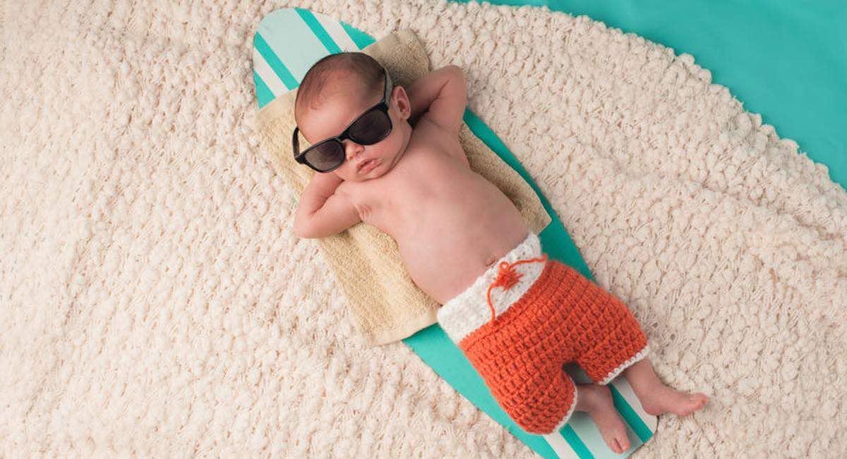 hoe warm je baby aankleden in de zomer
