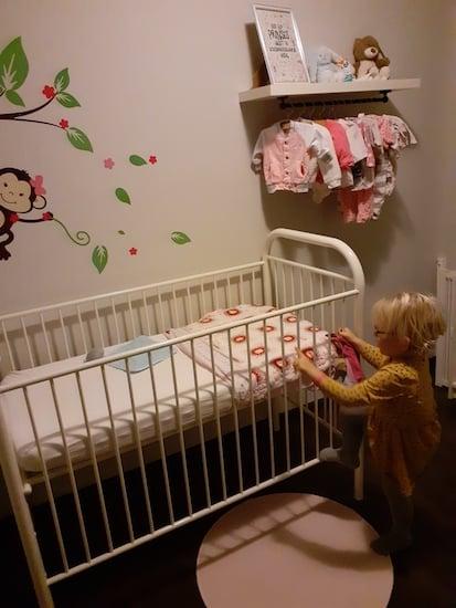 janneke babykamer is af