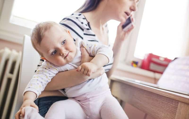 kenmerken stress bij baby