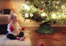 kerst met een baby in huis