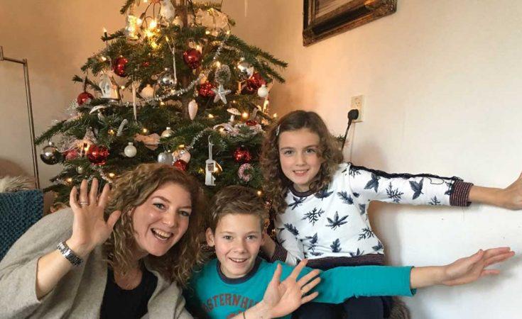 kerst bij Roos