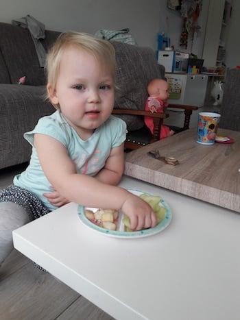 kinderen en eten
