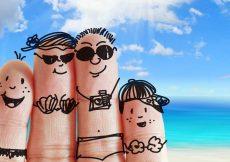 kinderen op zomervakantie tijdens coronatijd