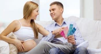 klussen en zwanger