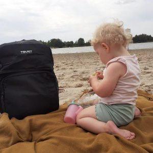 koelbox rugtas voor dagje strand