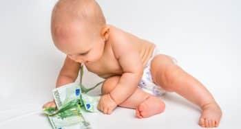 kosten baby eerste jaar