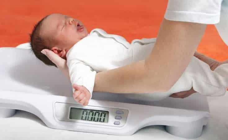 lengte en gewicht baby per maand