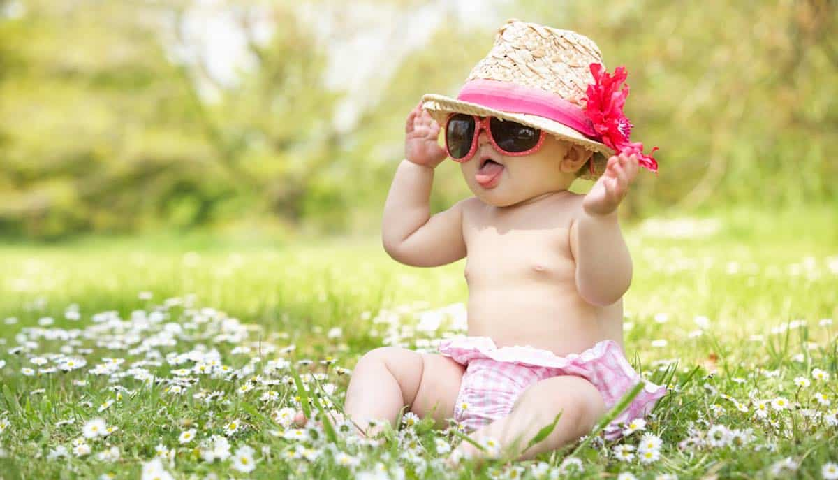 leukste babynamen voor een zomerbaby
