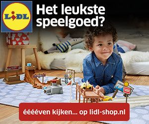 Speelgoed baby Lidl banner
