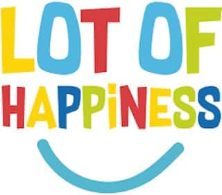 lot of happiness logo