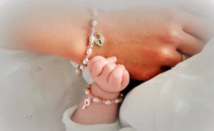 mama armband met naam kind