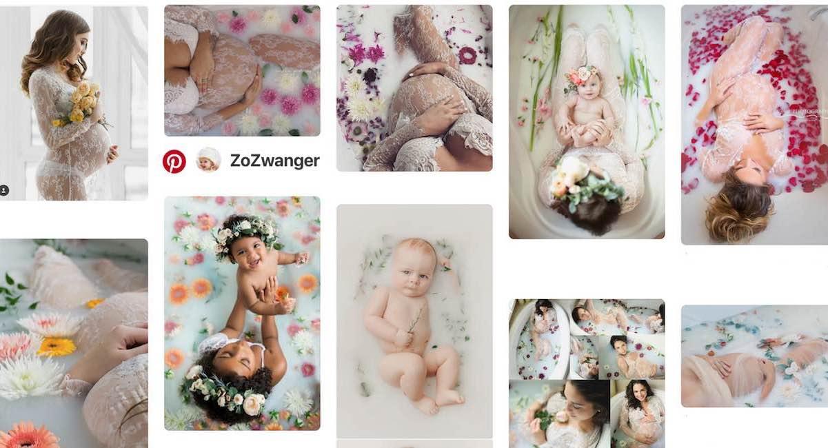 Geliefde Melkbad fotoshoot laten maken tijdens de zwangerschap! Hoe werkt het? @HQ96