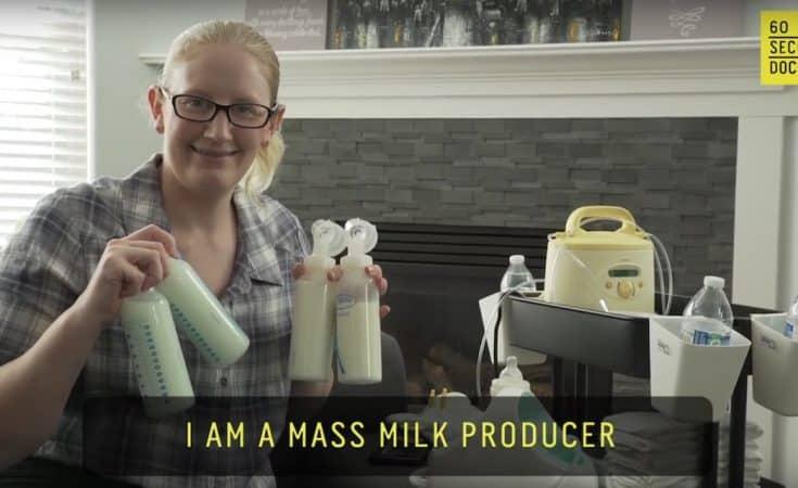 moeder is een melkfabriek