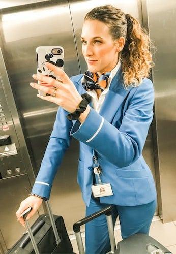 moeder zijn en stewardess combineren