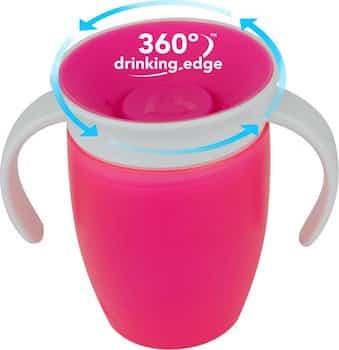 oefenbeker water leren drinken