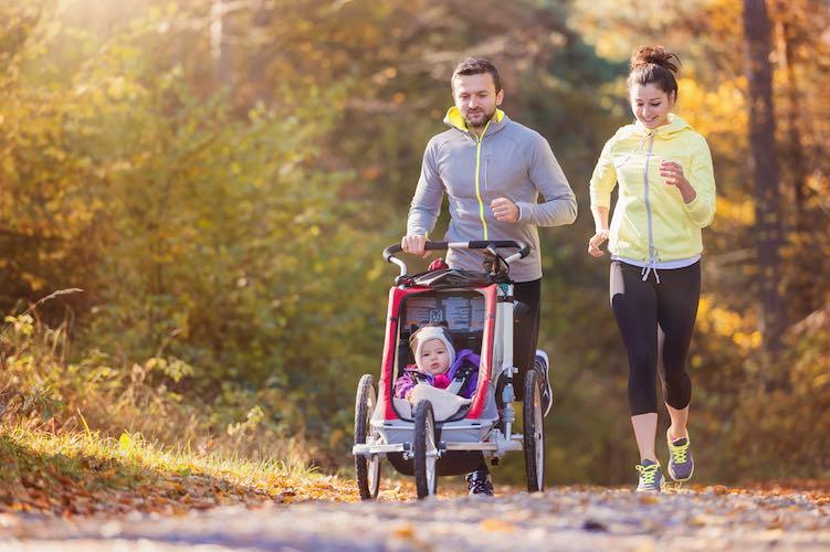 oefeningen back in shape na zwangerschap