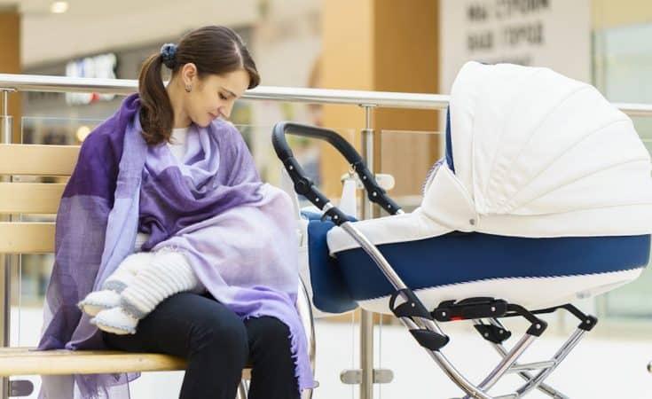 onderzoek borstvoeding geven in het openbaar