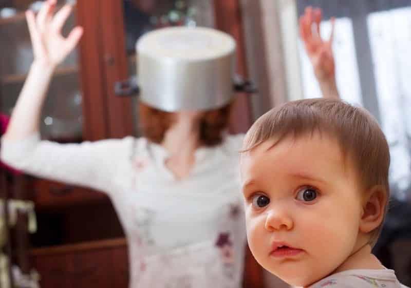 opmerkingen van volwassenen over baby