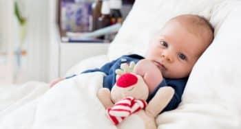overgeven bij een baby