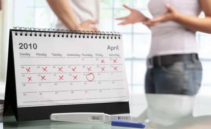 overtijd en negatieve zwangerschapstest