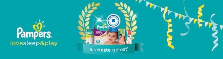 pampers baby dry aanbieding