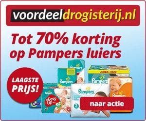 Voordeeldrogist Pampers banner