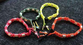 paracord armband maken