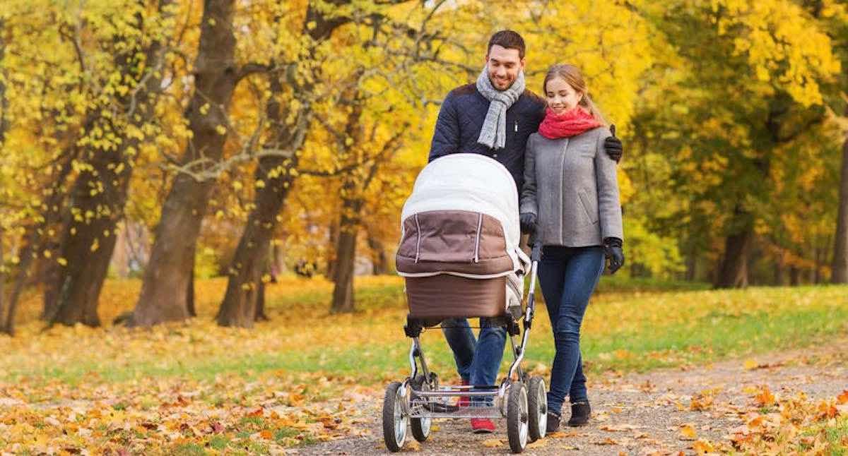 pasgeboren baby wandelen tips