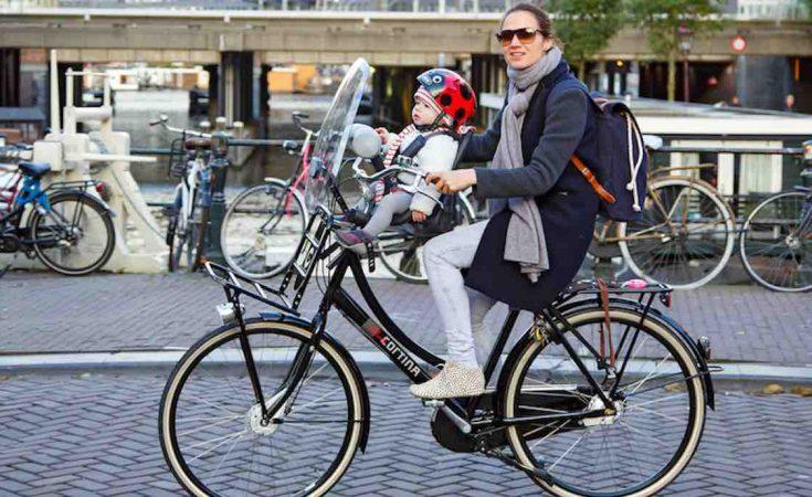perfecte fiets voor moeders
