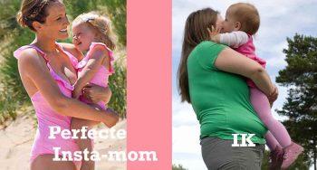 perfecte instagram moeders