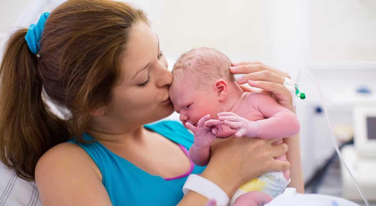 perstechnieken bevalling