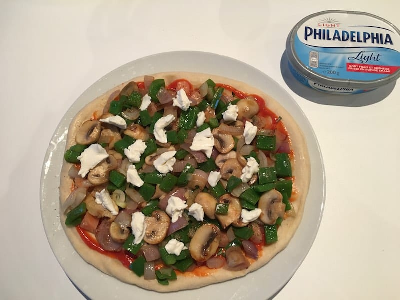 pizza eten zwanger
