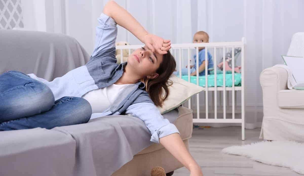 postnatale depletie altijd moe zijn als moeder