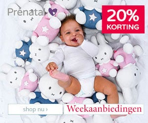 prenatal banner weekaanbiedingen