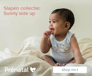 Prenatal 2 babykleding banner