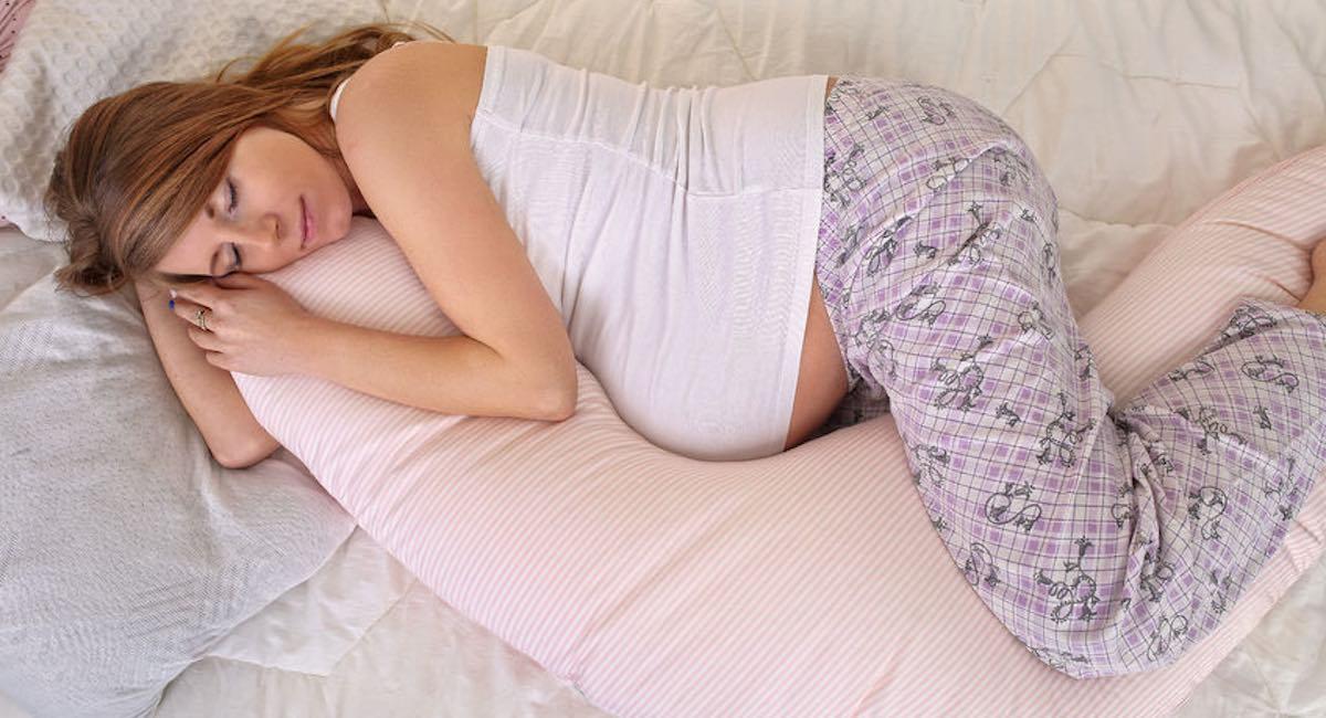 in slaap vallen tijdens de zwangerschap