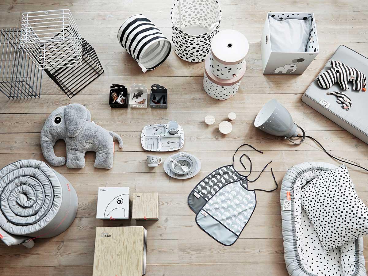 Scandinavische babykamer accessoires
