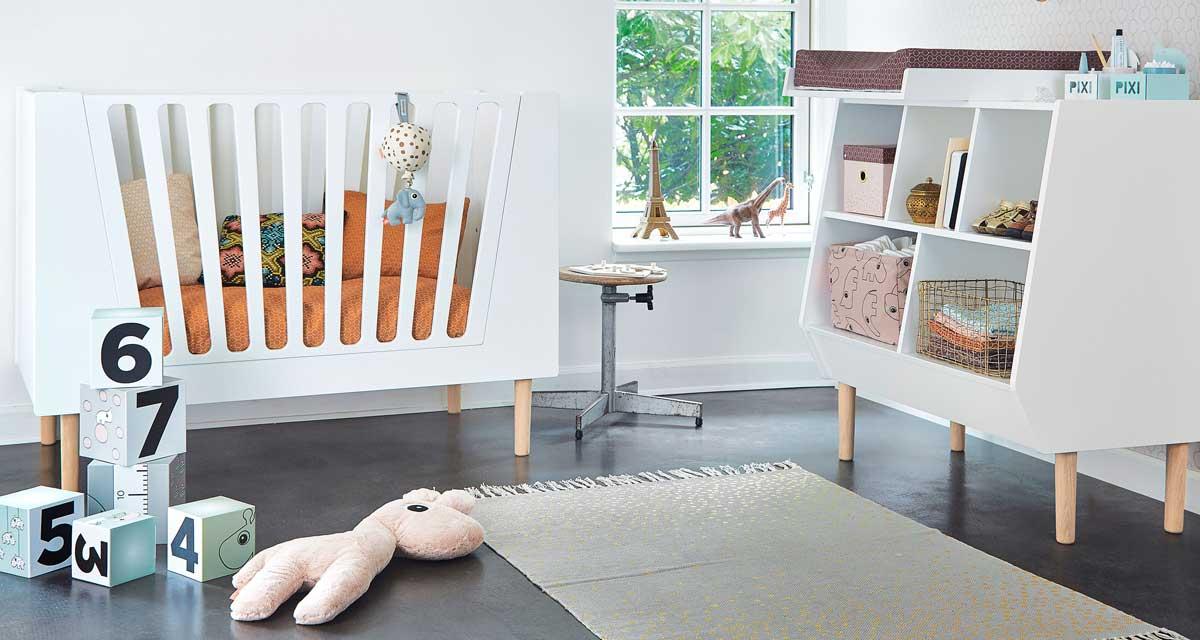 Scandinavische babykamer meubels