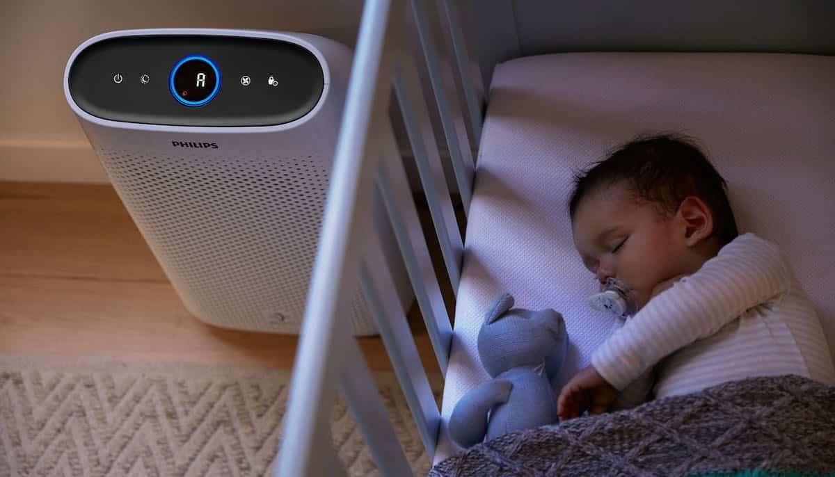 schone lucht op babykamer met beste luchtreiniger