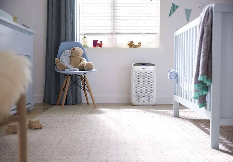 schone lucht op babykamer of kinderkamer