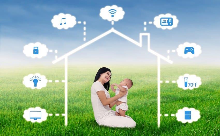 smarthome baby spullen voor in huis