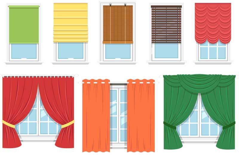 soorten raamdecoratie voor de kinderkamer