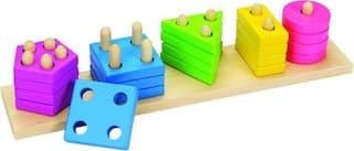 sorteerspel vormen en kleuren
