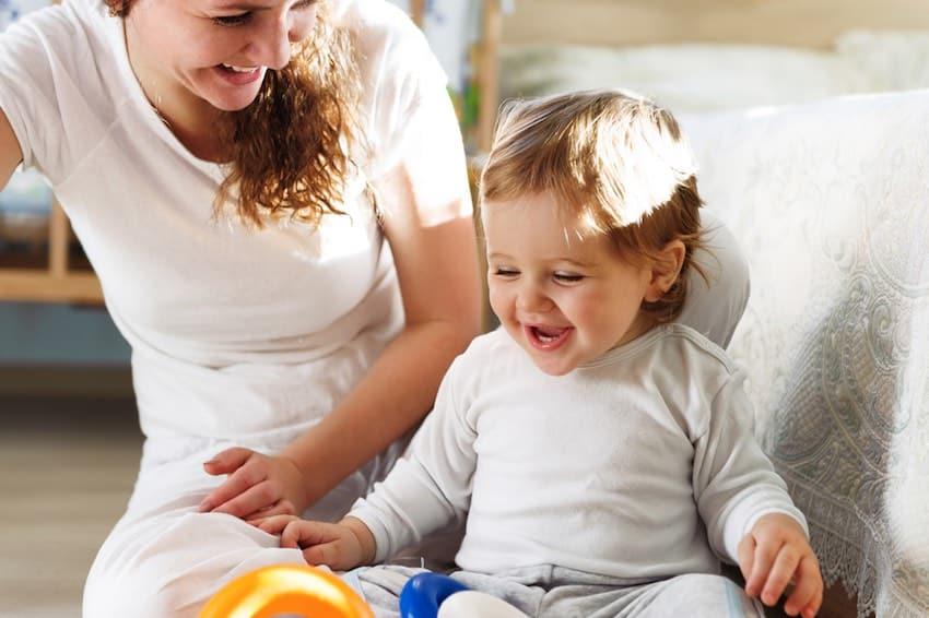 spelletjes voor baby 12 maanden